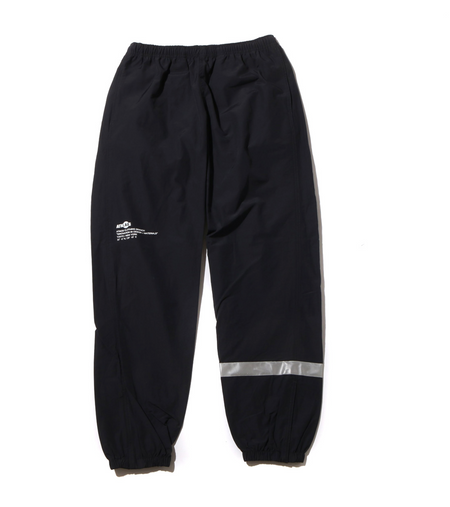 ATMOS LAB ROSE EMBROIDERY SWEAT PANTS - Black