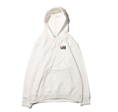ATMOS LAB ROSE EMBROIDERY HOODIE - White