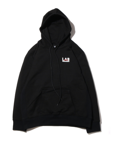 ATMOS LAB ROSE EMBROIDERY HOODIE - Black