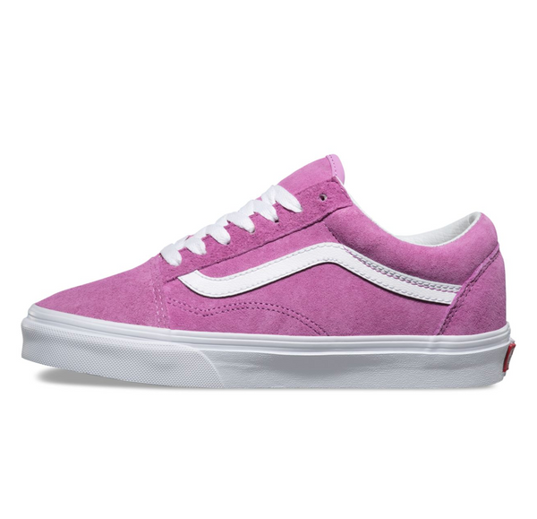 VANS OLD SKOOL PIG SUEDE - VIOLET / TRUE WHITE
