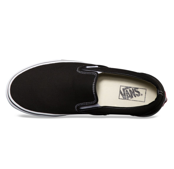 VANS SLIP-ON - BLACK