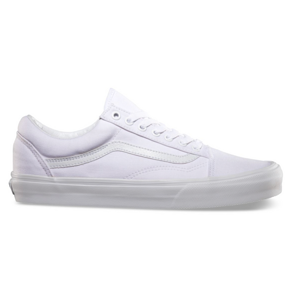 VANS OLD SKOOL - TRUE WHITE – Atmos New York 9489b597d