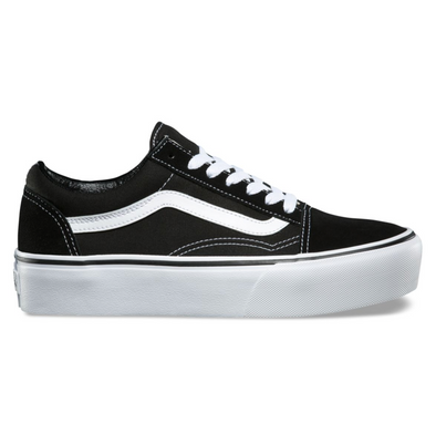 VANS OLD SKOOL PLATFORM - BLACK