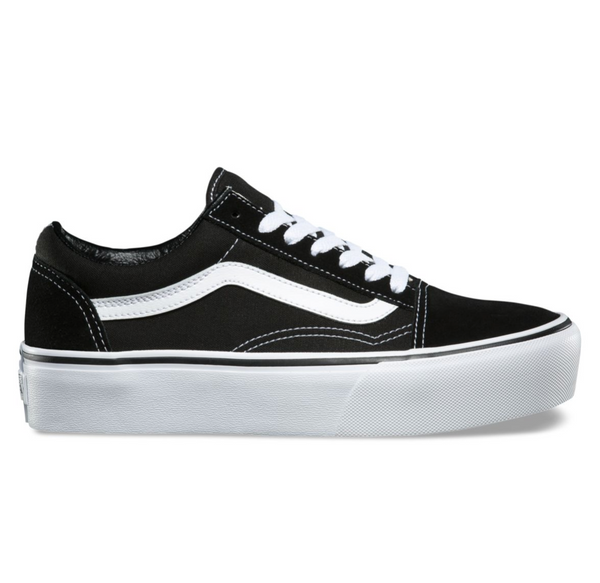 80a318204f9d VANS OLD SKOOL PLATFORM - BLACK – Atmos New York