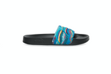 MENS PUMA LEADCAT COOGI SLIDE - BLACK / MULTI
