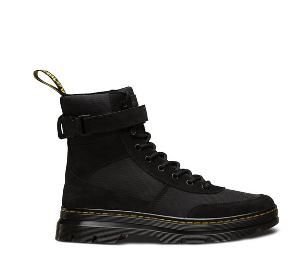 MEN S DR. MARTEN COMBS TECH BOOT - BLACK – Atmos New York 60be605f9683