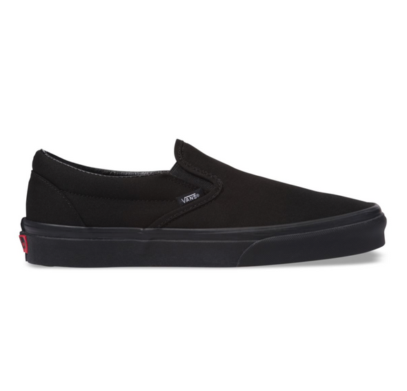 VANS SLIP-ON - Black / Black