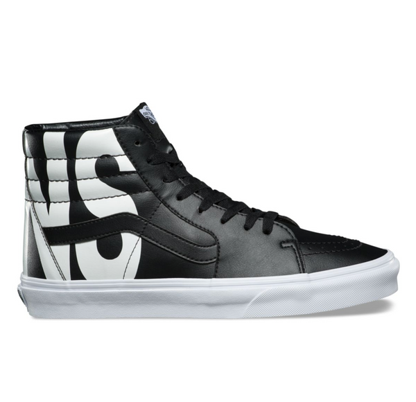 VANS CLASSIC TUMBLE SK8-HI - Black   White – Atmos New York 1c2d7603d