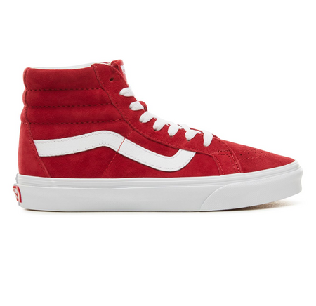 SUEDE PLATFORM TRACE VALENTINE'S DAY WOMEN'S SNEAKERS - Red