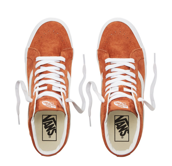 VANS SK8 HI PIG SUEDE - Leather Brown