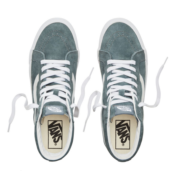 42478fcc44 VANS SK8 HI PIG SUEDE - Stormy Weather – Atmos New York