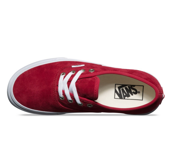 717b9858f41c VANS PIG SUEDE AUTHENTIC - Scooter Red – Atmos New York