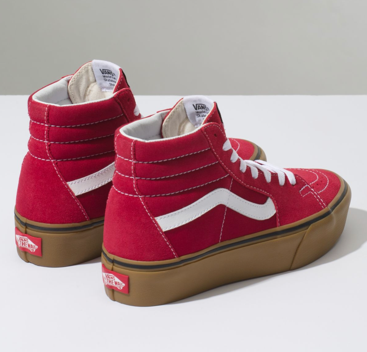 65d88dbd VANS GUM SK8-HI PLATFORM 2 - Scooter Red – Atmos New York