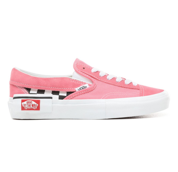 CHECKERBOARD SLIP-ON CAP SHOES - Pink – Atmos New York 4903e1ada