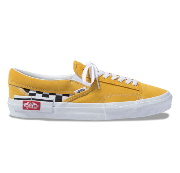 CHECKERBOARD SLIP-ON CAP SHOES - Golden Yellow – Atmos New York f51cb5ecf