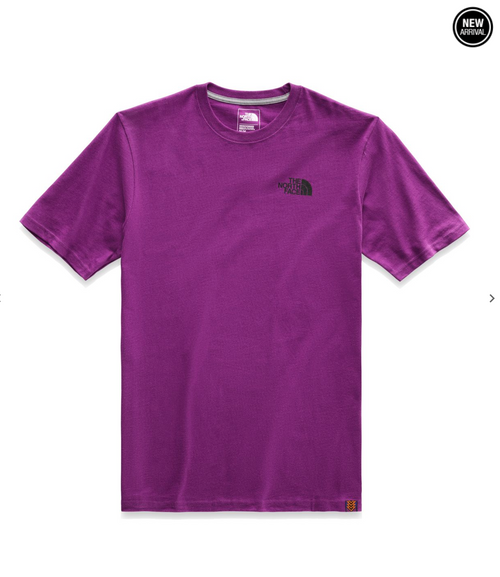 TNF MEN'S S/S HALF DOME HEAVYWEIGHT TEE - Phlox Purple