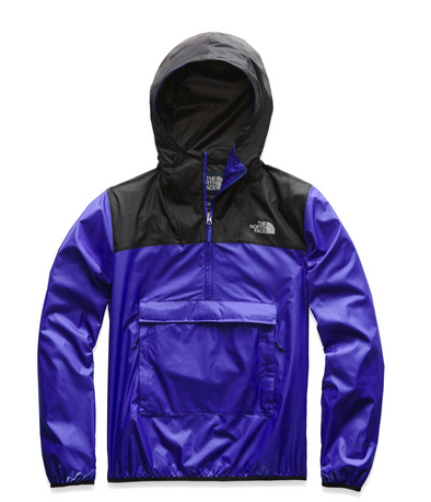 TNF MEN'S FANORACK - AZTEC BLUE/TNF BLACK