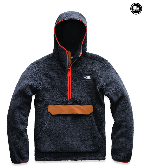 TNF MEN'S CAMPSHIRE PULLOVER HOODIE - URBAN NAVY/CARAMEL CAFE