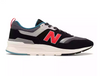Men's NEW BALANCE 997H - Magnet with Energy Red
