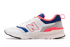Women's NEW BALANCE 997H - White with Team Royal