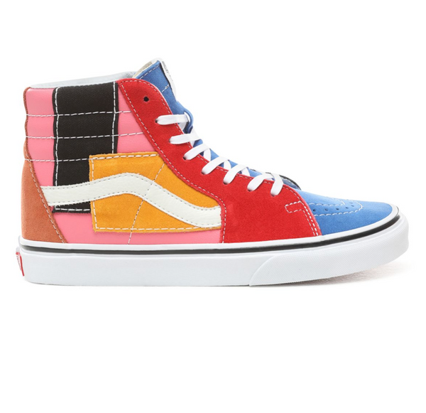 VANS PATCHWORK SK8-HI SHOES - Multi – Atmos New York 2282f399a
