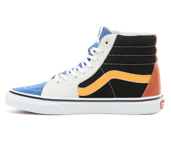 VANS PATCHWORK SK8-HI SHOES - Multi