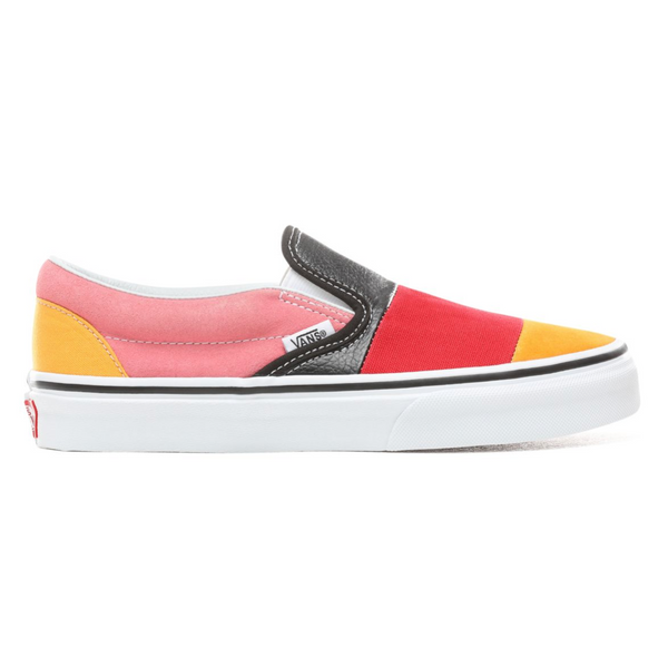 de19ffc63f VANS PATCHWORK SLIP-ON SHOES - Multi – Atmos New York