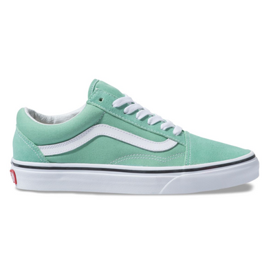 VANS OLD SKOOL - Neptune Green / White