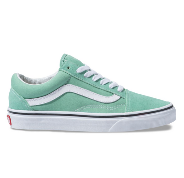 VANS OLD SKOOL - Neptune Vert / Blanc - Atmos New York