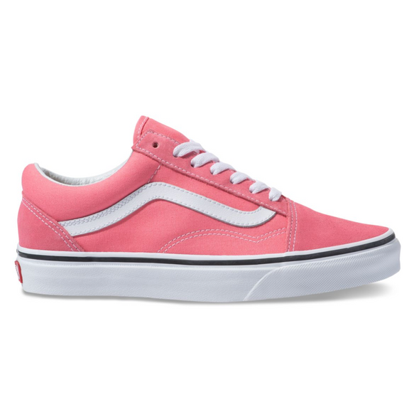 VANS OLD SKOOL - Strawberry Pink / White