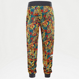 THE NORTH FACE FINE 2 PANT - Leopard Yellow Genesis Print