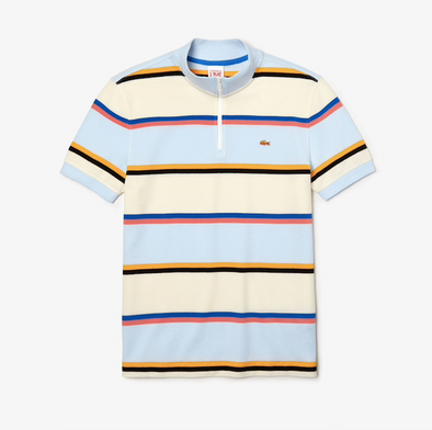 l!ve x opening ceremony rainbow striped polo - Multi
