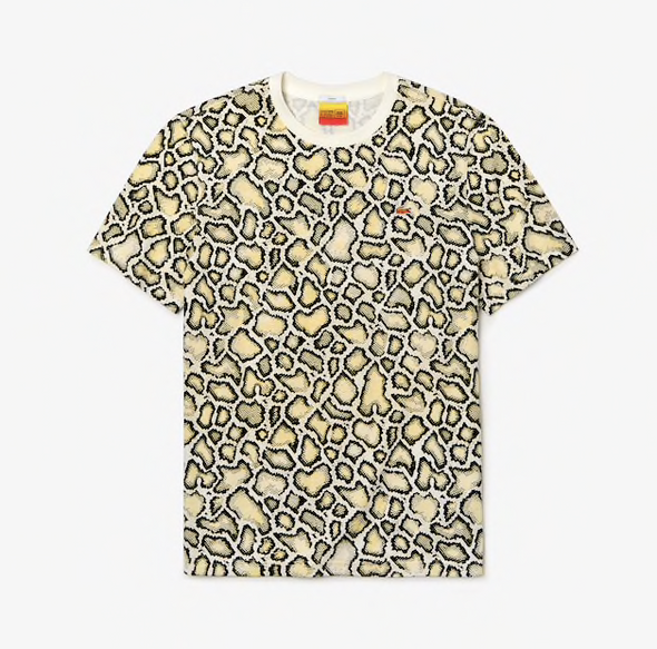 l!ve x opening ceremony graphic croc aop tee shirt - Scale Print