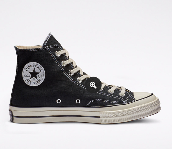 CONVERSE Chuck 70 High Top - Black/Black/Egret