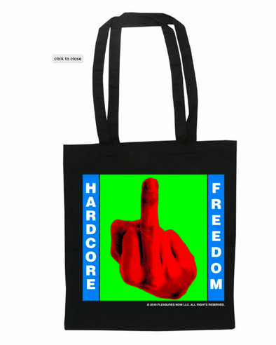 TOTAL FREEDOM TOTE BAG O/S BLACK