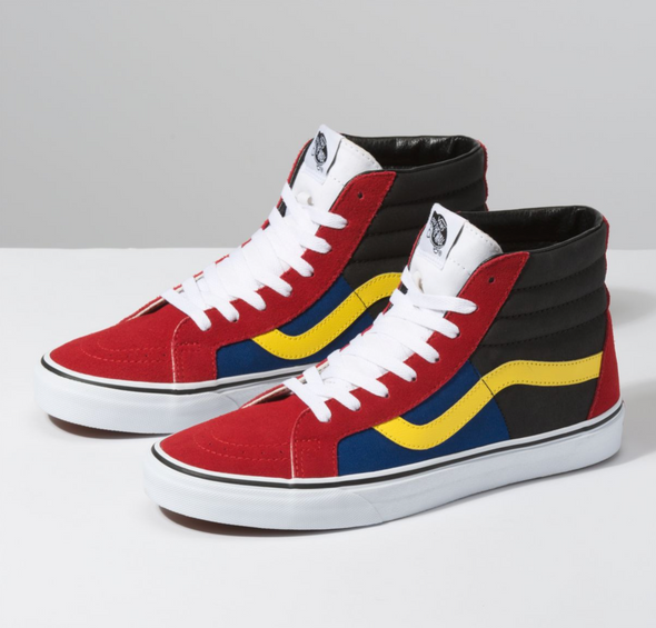 OTW RALLY SK8-HI REISSUE - CHILI PEPPER/TRUE WHITE