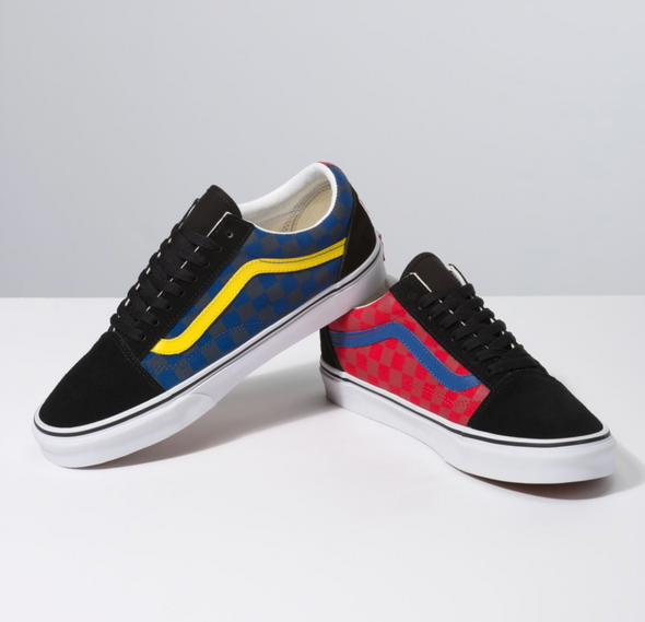 OTW RALLY OLD SKOOL - CHECKER/MULTI/BLACK
