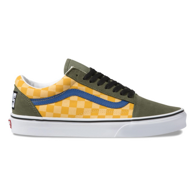 OTW RALLY OLD SKOOL - CHECKER/MULTI/DEEP LICHEN GREEN