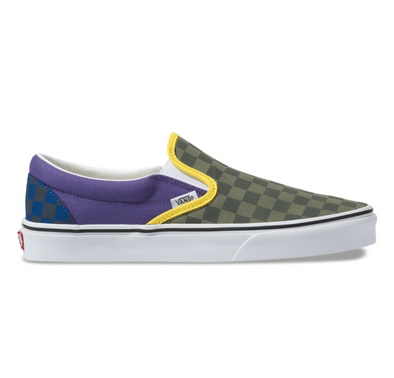 OTW RALLY SLIP-ON - GREEN/PURPLE/BLUE