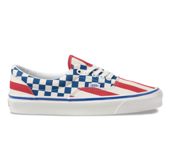 ANAHEIM FACTORY ERA 95 DX - OG RED STRIPES/OG BLUE CHECK