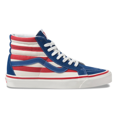 ANAHEIM FACTORY SK8-HI 38 DX - OG BLUE/OG RED STRIPES
