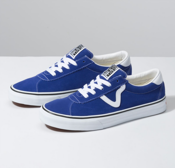 SUEDE VANS SPORT - SURF THE WEB