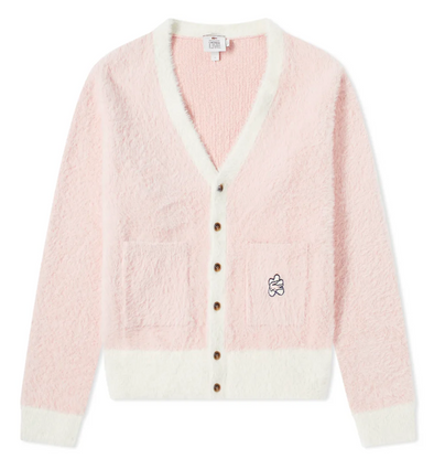 LACOSTE LIVE X TYLER THE CREATOR CARDIGAN - Lychee / Geode