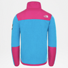 MEN'S TNF DENALI FULL ZIP FLEECE - ACOUSTIC BLUE\FESTIVAL PINK