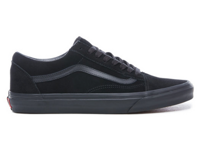 vans old school (suade) Black/Black