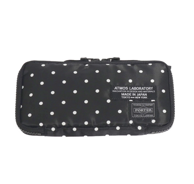 PORTER x ATMOS LAB DOT WALLET - BLACK