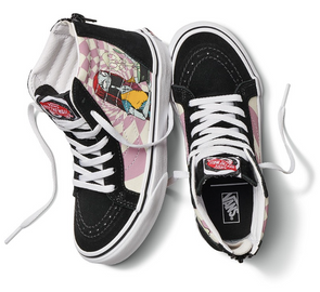 "VANS X THE NIGHTMARE BEFORE CHRISTMAS UA SK8-HI ""SALLY"" - BLACK/PINK-MULTI"