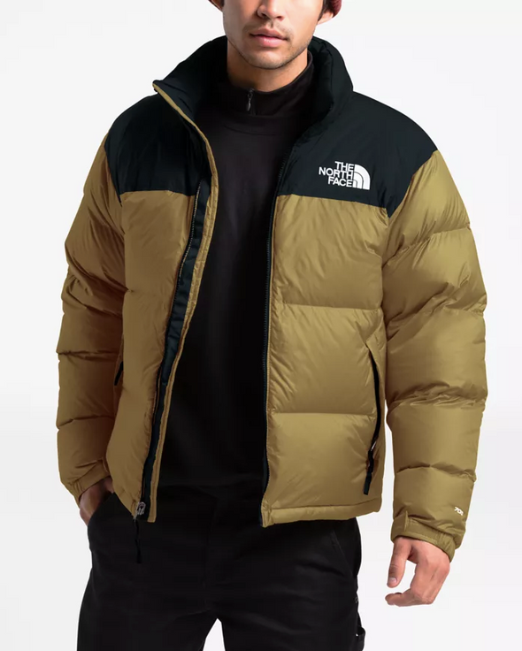MEN'S THE NORTH FACE 1996 RETRO NUPTSE JACKET - BRITISH KHAKI