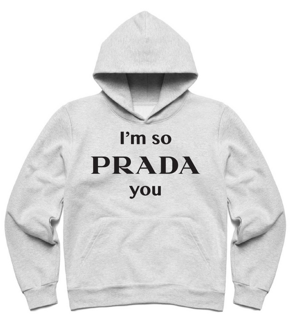 CTM PROUD OF YOU HOODIE - Athletic Heather