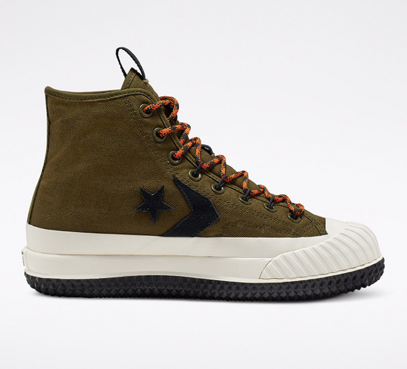 MEN'S CONVERSE BOSEY MC HI - SURPLUS OLIVE/CAMPFIRE